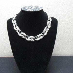 Vintage Coro Silver Tone Necklace